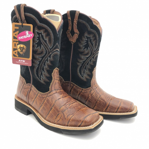 ARIAT LADIES ALLIGATOR BOOTSIT (36)