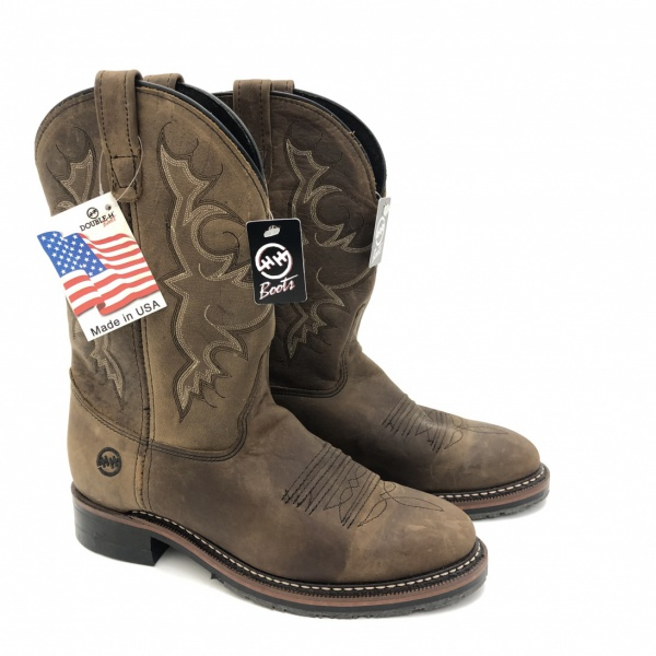 DOUBLE H MENS ROPER BOOTSIT (42,5)